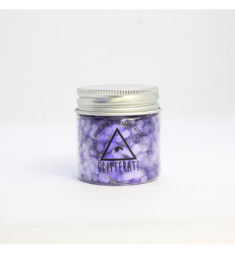 Parma Violets - Chunky Mixed Glitter Large 30g Pot