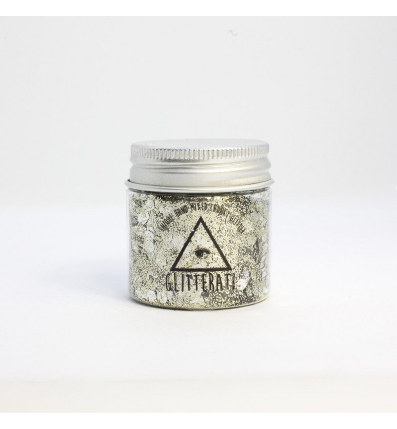 Silver Fox  - Chunky Mixed Glitter Large 30g Pot